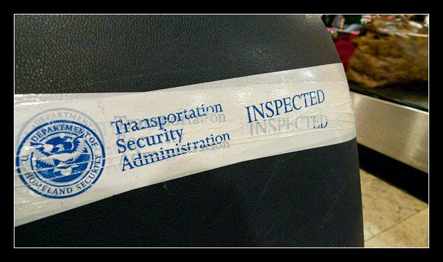 La TSA se ha cargado mi maleta