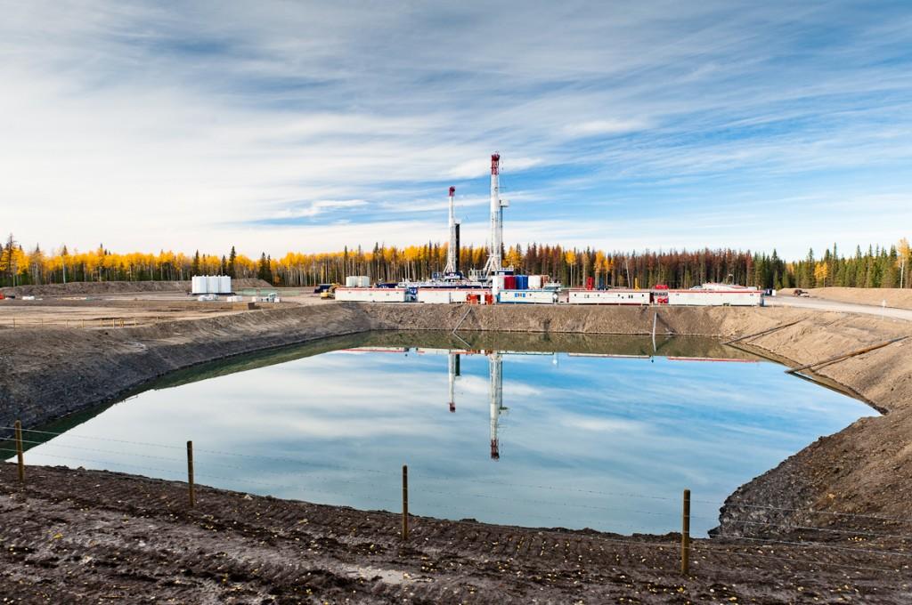 Ejemplo de planta de Gas de Esquisto