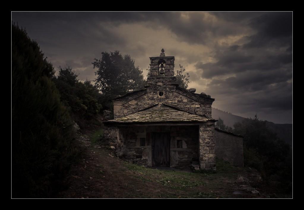 Capilla de San Cristobal, en Villanueva de Oscos