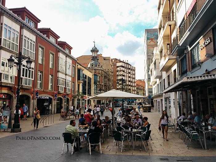 Calle La cámara, Avilés. 31 de agosto 2016