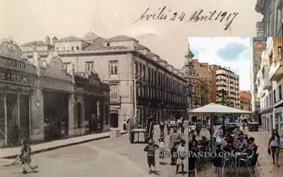 Calle La Cámara, Avilés: 100 años
